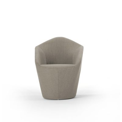 Penta Armchair with Swivel Base